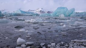 Joekulsarlon, Island, Europa stock video