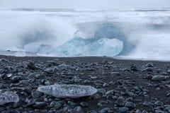 Joekulsarlon (³ n) rlà ¡ JökulsÃ, Исландия Стоковые Изображения RF