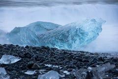 Joekulsarlon (³ n) rlà ¡ JökulsÃ, Исландия Стоковые Фото