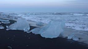 Joekulsarlon vinter i Island, Europa lager videofilmer