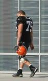 Joel Bitonio #75 OL Cleveland Browns Foto de archivo
