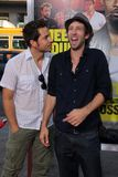 Joel David Moore,Zachary Levi Royalty Free Stock Photo