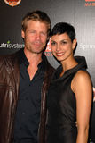 Joel Gretsch,Morena Baccarin. Joel Gretsch and Morena Baccarin  at the TV GUIDE Magazine's Hot List Party, SLS Hotel, Los Angeles, CA. 11-10-09 Stock Images