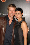 Joel Gretsch,Morena Baccarin. Joel Gretsch and Morena Baccarin  at the TV GUIDE Magazine's Hot List Party, SLS Hotel, Los Angeles, CA. 11-10-09 Stock Photos