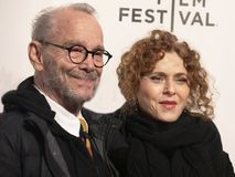 Joel Grey & Bernadette Peters at Premiere of `It Takes a Lunatic` at 2019 Tribeca Film Festival royalty free stock images