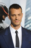 Joel Kinnaman. LOS ANGELES, CA - FEBRUARY 10, 2014: Joel Kinnaman at the premiere of his movie RoboCop at the TCL Chinese Theatre, Hollywood Royalty Free Stock Images