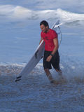 Joel Parkinson. Event: 2009 Van's Triple Crown of Surfing Royalty Free Stock Photography