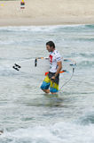 Joel Parkinson - Quicksilver Pro Royalty Free Stock Photos