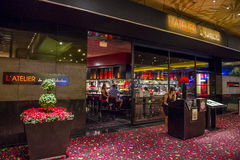 Joel Robuchon restaurant. LAS VEGAS - SEP 03 : The Joel Robuchon restaurant in MGM hotel in Las Vegas on September 03 2015. The restaurant  has been rated 3 Royalty Free Stock Images