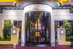 Joel Robuchon restaurant. LAS VEGAS - SEP 03 : The Joel Robuchon restaurant in MGM hotel in Las Vegas on September 03 2015. The restaurant  has been rated 3 Royalty Free Stock Photo