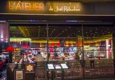 Joel Robuchon restaurant Stock Images