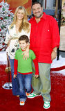 Joel Silver. And family attend the World Premiere of `Fred Claus` held at the Grauman`s Chinese Theater in Hollywood, California, United States on November 3 Royalty Free Stock Photography