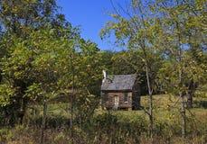 Joel Sweeney Homestead. Joel Sweeney landmark in rural Virginia in Appomattox County. He created the 5 string banjo Stock Image