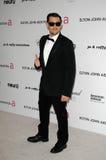 Joel woedend maakt, Elton John royalty-vrije stock foto's