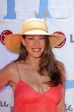 Joely Fisher en el día del LG de buena diversión limpia, mansión de Asconia, Beverly Hills, CA 06-23-12 Fotografía de archivo