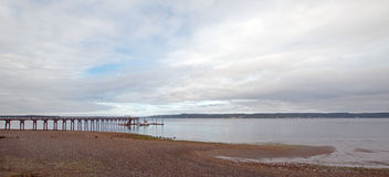 Joemma plaży stanu parka molo i Łódkowaty dok na Puget Sound blisko Tacoma Waszyngton Obrazy Stock