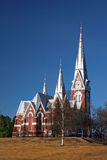 Joensuu Evangelical Lutheran Church Finland Royalty Free Stock Images
