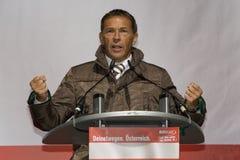 Joerg Haider, Austrian politician Stock Image