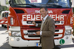Joerg Haider, Austrian politician Stock Photos