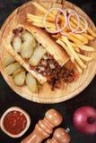 Joes trascurati, panino della carne tritata Fotografia Stock Libera da Diritti