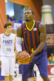 Joey Dorsey of FC Barcelona Royalty Free Stock Images