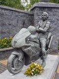 Joey-dunlop Denkmalgarten Stockfotografie