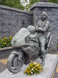 Joey dunlop memorial garden Stock Photography