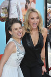 Joey King & Hunter King Royalty Free Stock Photography