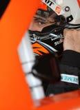 Joey Logano in car Stock Photos