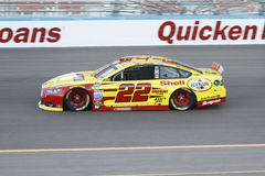 Joey Logano. NASCAR Sprint Cup driver Joey Logano on track Stock Photo