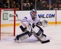 Joey MacDonald, gardien de but de Toronto Maple Leafs Photos stock
