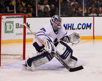 Joey MacDonald, Toronto Maple Leafs goalie. Stock Photos
