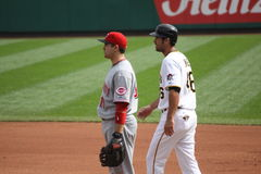 Joey Votto of the Cincinnati Reds Royalty Free Stock Photos