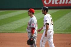 Joey Votto de Cincinnati Reds Photos libres de droits
