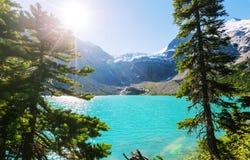Joffre lake Stock Photo