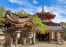 Jofuku-im Tempel in Koyasan (Mt Koya) Wakayama Lizenzfreie Stockbilder