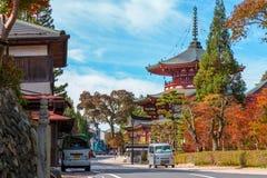 Jofuku-in Temple in Koyasan (Mt. Koya) Wakayama Royalty Free Stock Photos