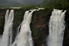 Jog понижается, Gerosoppa понижается или Joga понижается на реку Sharavathi в положении Karnataka Индии стоковые изображения