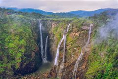 Jog Falls royalty free stock photography