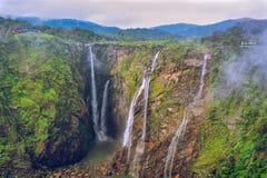 Jog Falls. The mighty Jog falls, six waterfalls royalty free stock photography