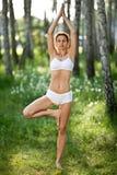 joga ćwiczyć joga obraz royalty free