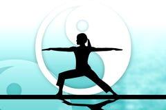 joga сработанности иллюстрация штока