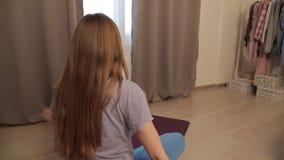 Joga dla kobieta w ciąży 05 zbiory wideo