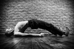 Joga instruktor zdjęcie royalty free