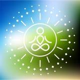 Joga logo Obraz Royalty Free