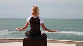 Joga medytaci kobieta zbiory