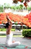 Joga medytacja Zdjęcia Royalty Free