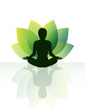 Joga medytacja Zdjęcia Stock