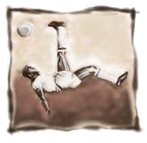 Jogador ilustração do vetor