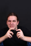 Jogador adolescente do jogo video Fotos de Stock Royalty Free